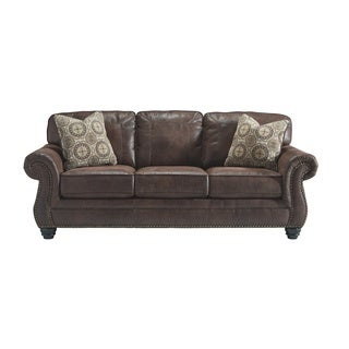 Signature Design by Ashley Breville Espresso Sofa