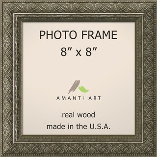 Barcelona Pewter Photo Frame 8x8' 10 x 10-inch