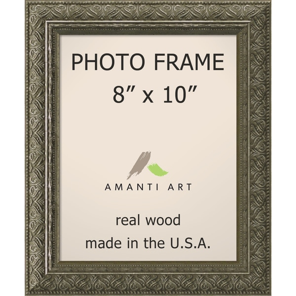 shop barcelona pewter photo frame 8x10 39 10 x 12 inch free shipping today overstock 10089983. Black Bedroom Furniture Sets. Home Design Ideas