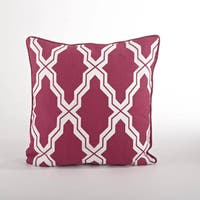 Moroccan Down Filled 18-inch Throw Pillow