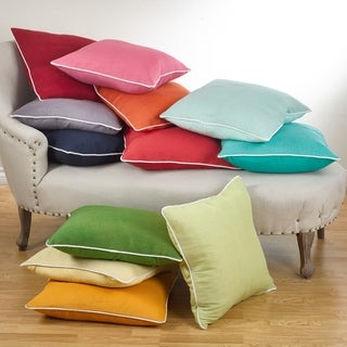 Classic Down Filled 20-inch Throw Pillow