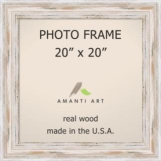 Alexandria Whitewash Photo Frame 20x20' 25 x 25-inch