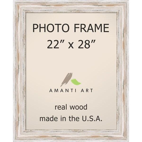 Shop Alexandria Whitewash Photo Frame 22x28 27 X 33 Inch Free