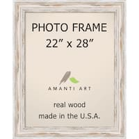 Alexandria Whitewash Photo Frame 22x28' 27 x 33-inch
