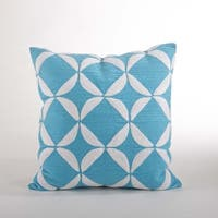 Crewel Work Down Filled 18-inch Throw Pillow