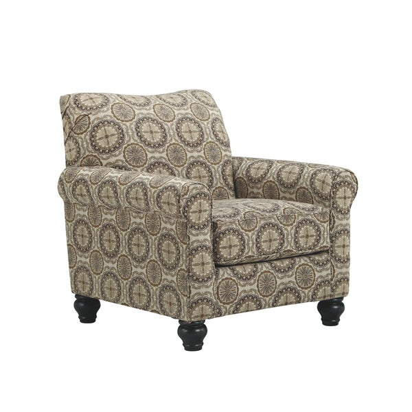 Shop Breville Burlap Accent Chair Free Shipping Today