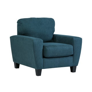 Signature Design by Ashley Sagen Teal Chair
