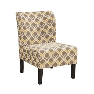 Signature Design by Ashley Honnally Gunmetal Accent Chair