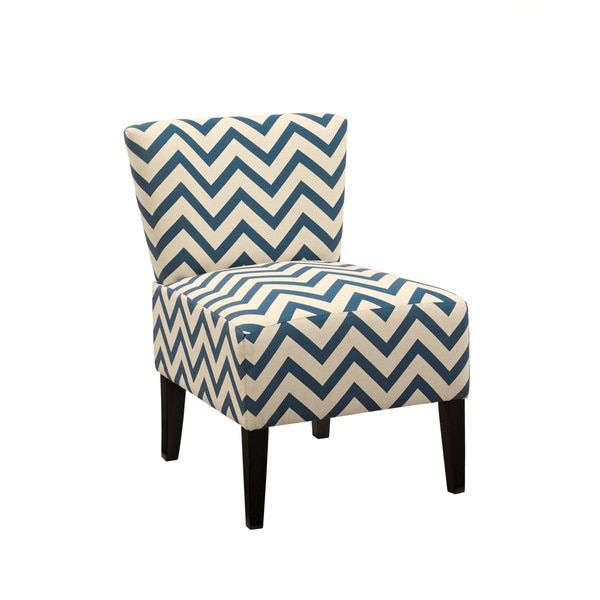 signature design by ashley ravity blue accent chair