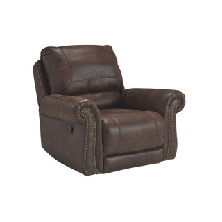 Signature Design by Ashley Breville Espresso Rocker Recliner