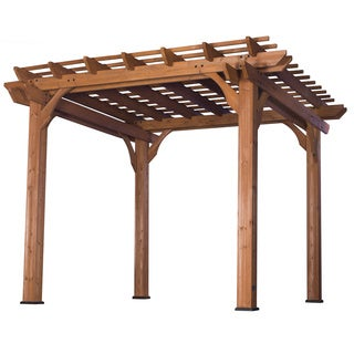 Cedar Pergola 10' x 10' (Assembly Included)