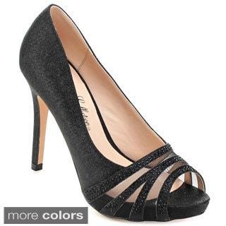 DE BLOSSOM COLLECTION BARBARA-34 Women's Stiletto Slip On Dress Pumps
