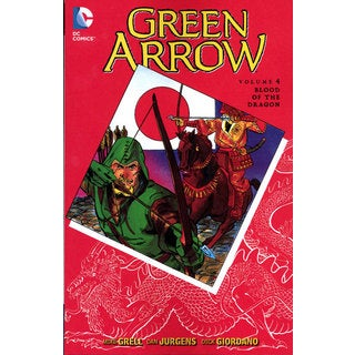 Green Arrow 4: Blood of the Dragon (Paperback)