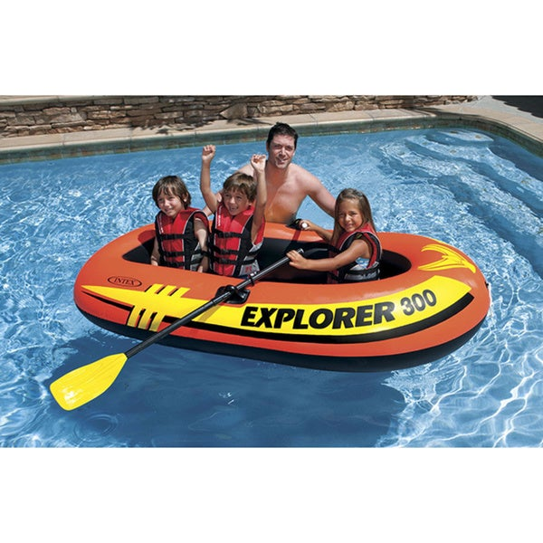 Intex Explorer 300 Boat Set