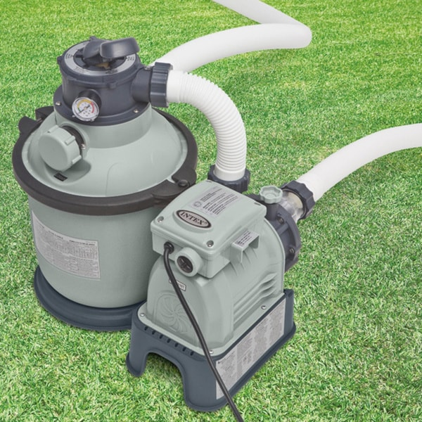 Intex Krystal Clear 1 200 Gph Sand Filter Pump Free Shipping Today 17233338