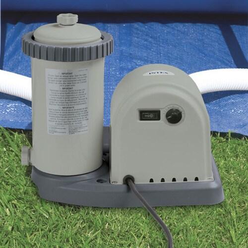 Intex Krystal Clear 1,500 GPH Cartridge Filter Pump