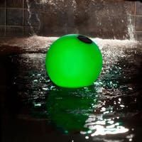 Solar Globe Light Up Pool Chlorinator