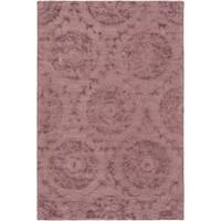 Hand-Tufted Spilsby Polka Dots Viscose Area Rug - 3' x 5'