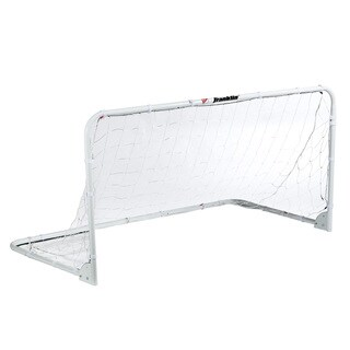 Franklin Sports White Steel, PE 6-foot x 3-foot Folding Soccer Goal