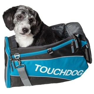 Touchdog Airline Approved Water-resistant Modern-glide Dog Carrier - One size
