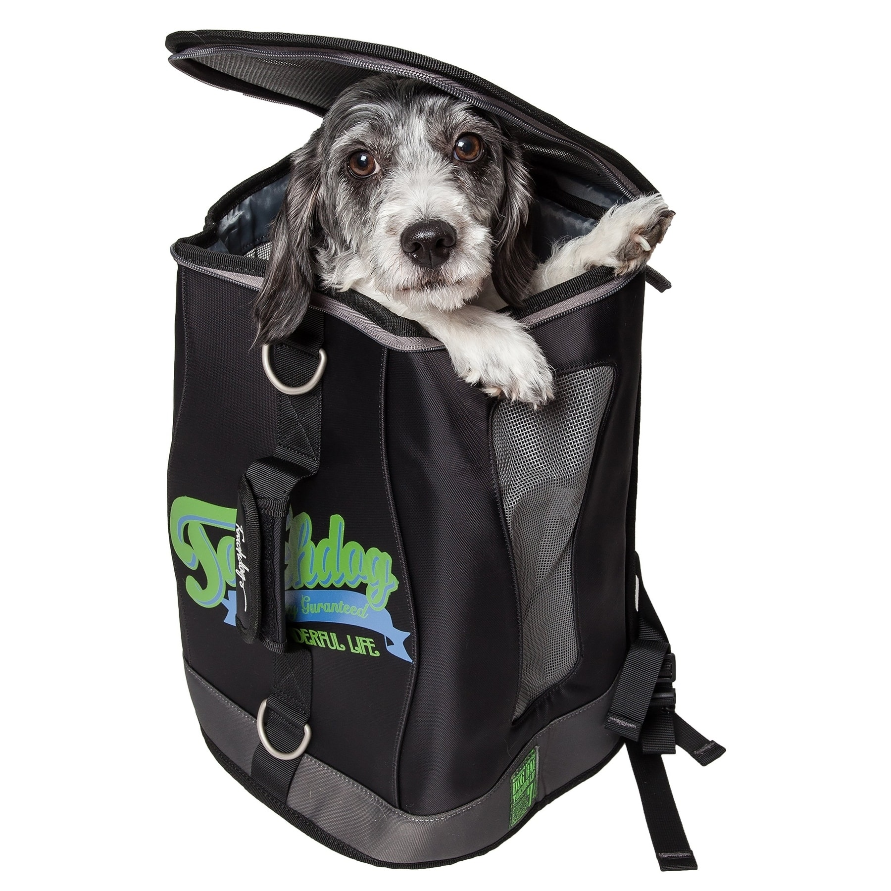 Petlife Touchdog Airline Approved Ultimate-travel Backpac...