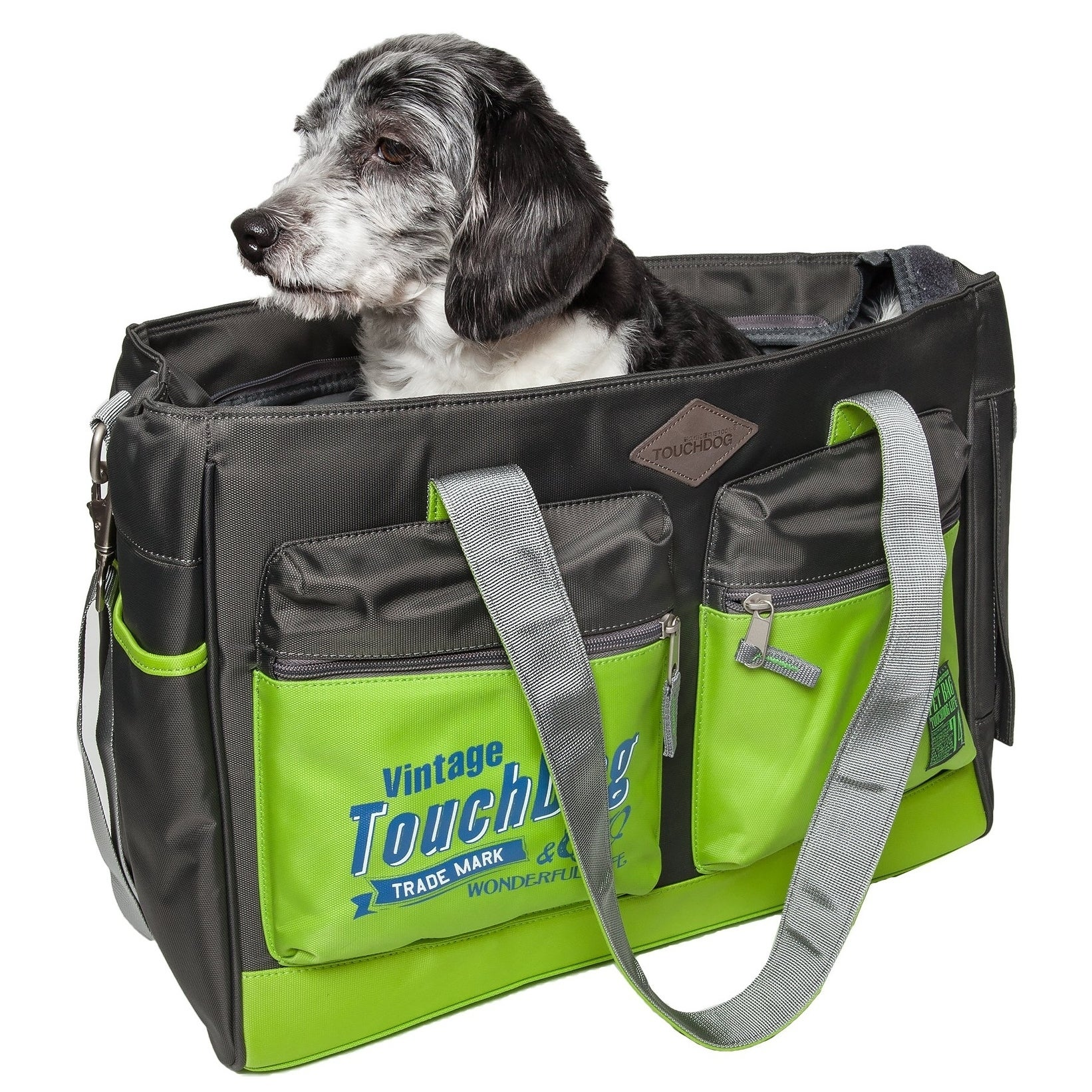 Petlife Touchdog Active-purse Water Resistant Dog Carrier...
