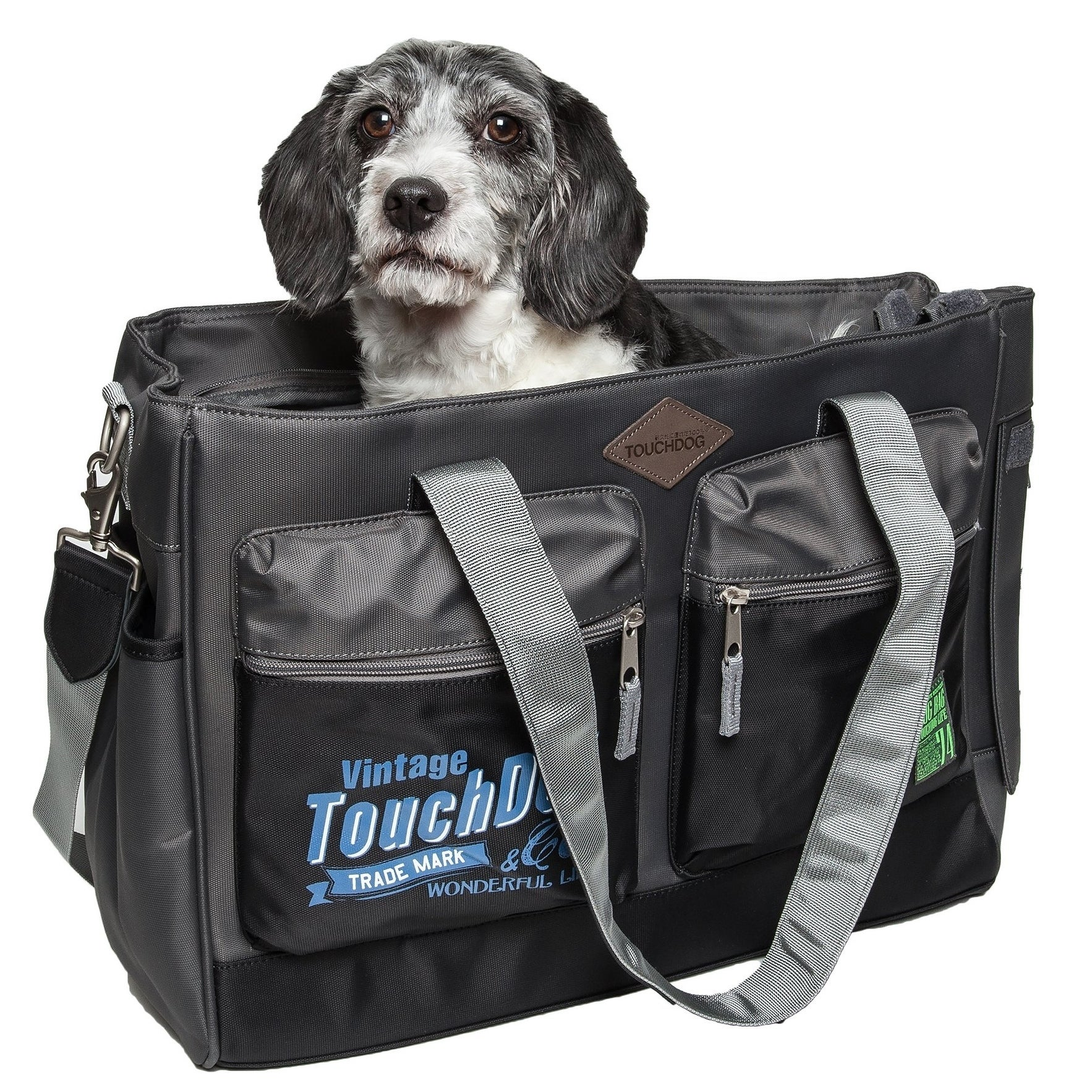 Petlife Water Resistant Touchdog Active-purse Dog Carrier...