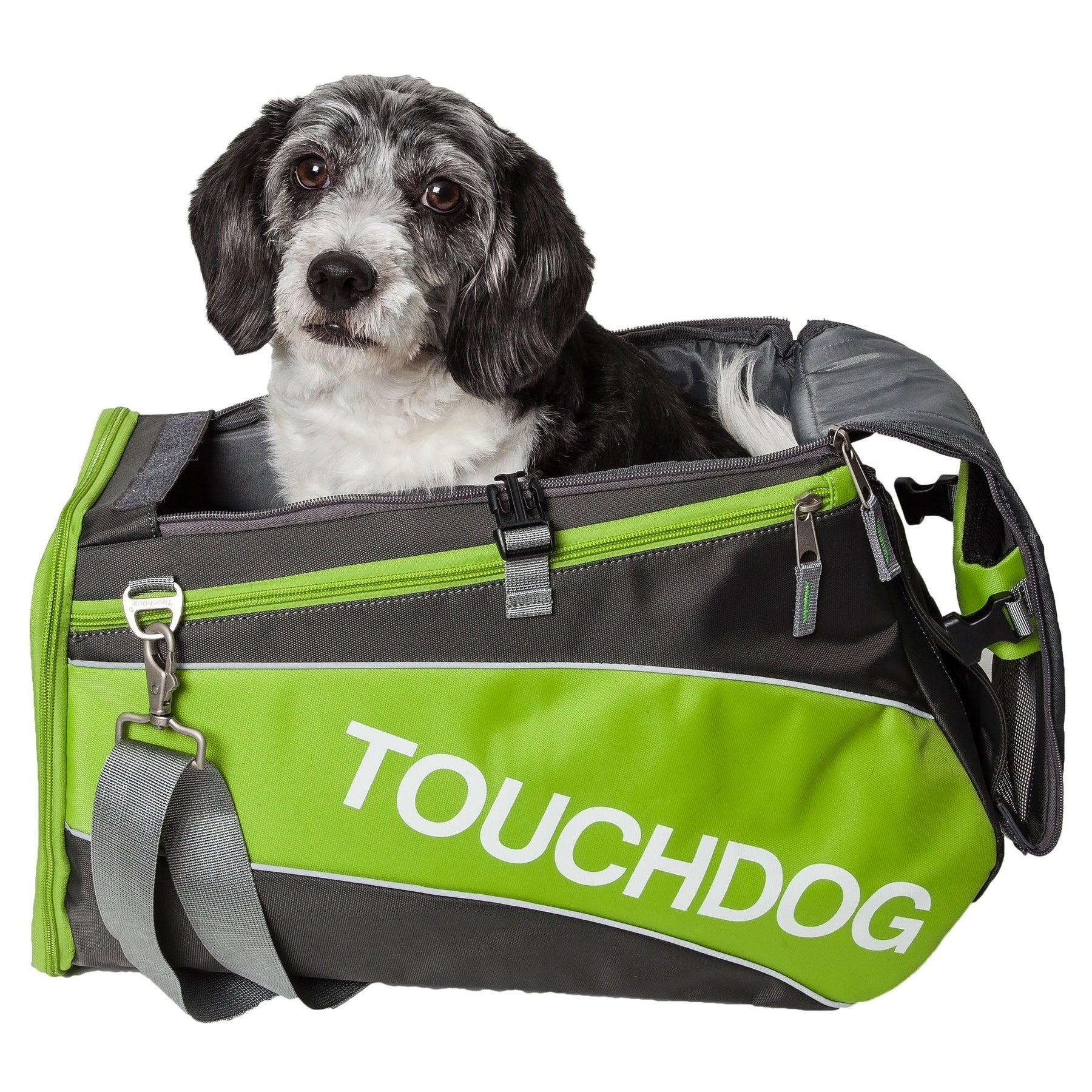 Petlife Touchdog Modern-glide Airline Approved Water-resi...