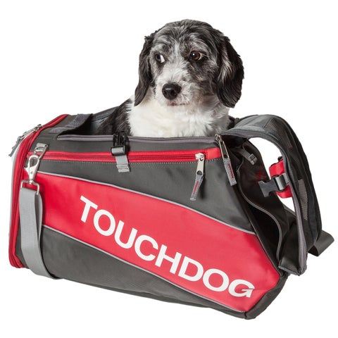 Touchdog Airline Approved Modern-glide Water-resistant Dog Carrier - One size