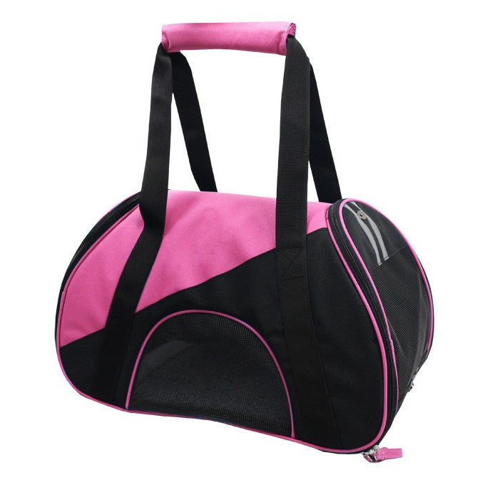Petlife Airline Approved Zip-n-go Contoured Pet Carrier (...