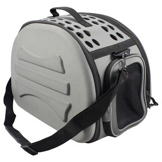 Narrow Shelled Lightweight Collapsible Transportable Military Grade Pet Carrier