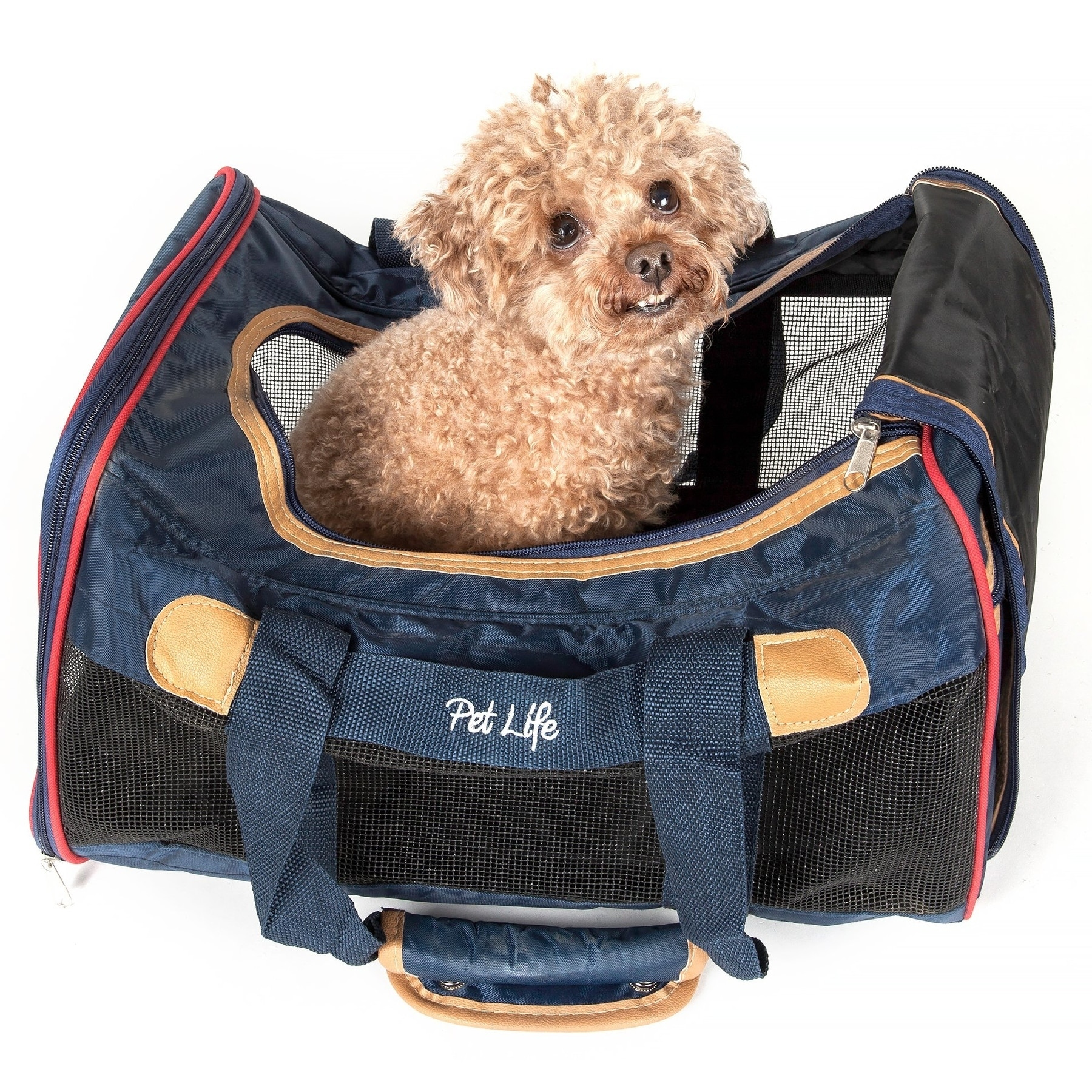 Petlife Airline Approved Aero-zoom Lightweight Wire Frame...