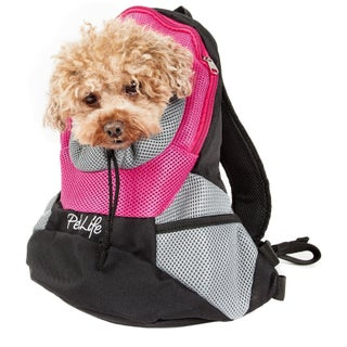 On-the-go Supreme Travel Bark-pack Backpack Pet Carrier - One size