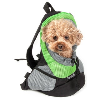 On-the-go Bark-pack Supreme Travel Backpack Pet Carrier - One size
