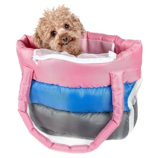 Bubble-poly Tri-colored Insulated Pet Carrier - One size
