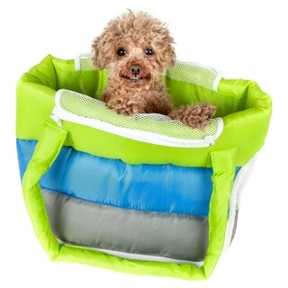 Bubble-poly Insulated Tri-colored Pet Carrier - One size