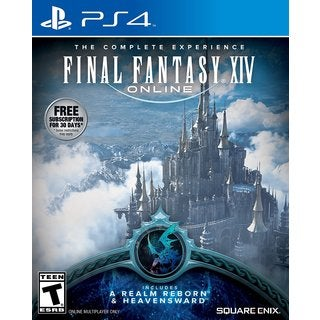 PS4 - Final Fantasy XIV Online (Realm Reborn/Heavensward)
