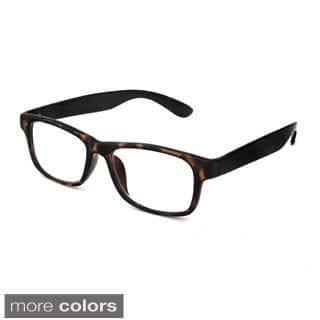 Hot Optix Unisex Retro Rectangular Reading Glasses|https://ak1.ostkcdn.com/images/products/10091784/P17233635.jpg?impolicy=medium