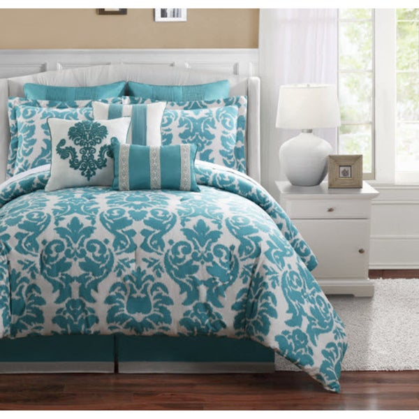 Journee Home Cordoba 9-piece Cotton Comforter Set