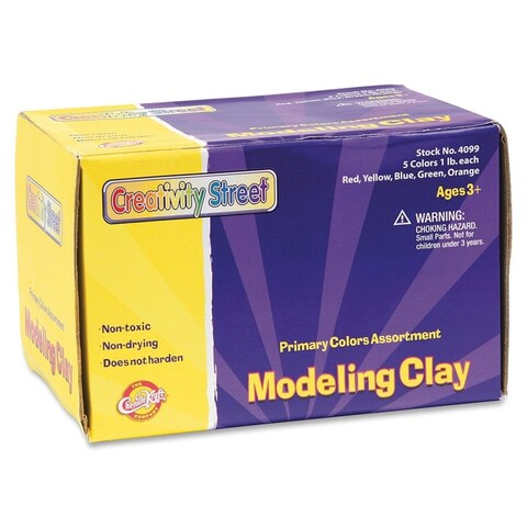 ChenilleKraft Non-hardening Modeling Clay in Assorted Colors