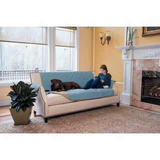Home Fashion Designs Kaylee Collection Quilted Reversible Sofa Protector (2 options available)