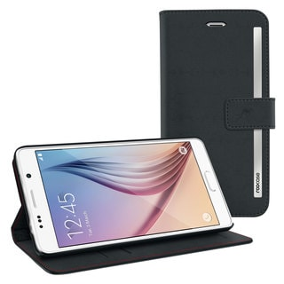 rooCASE Prestige Wallet Synthetic Leather Folio Cover for Samsung Galaxy S6
