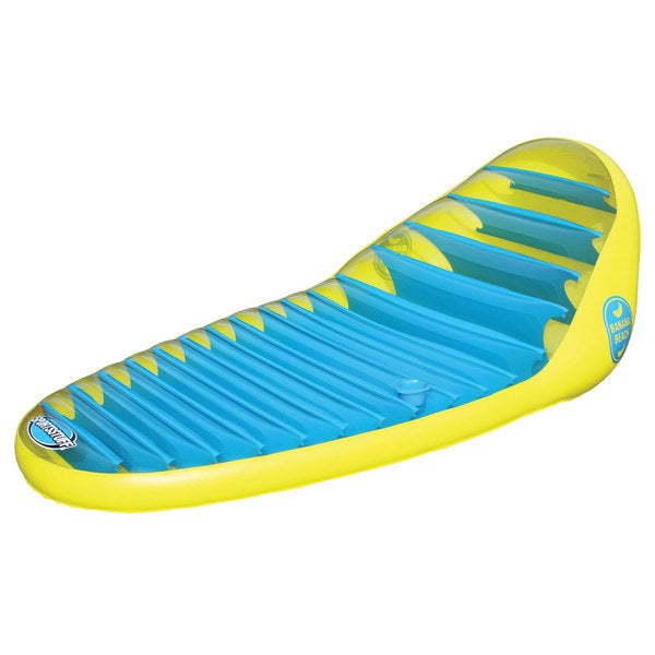 Sportsstuff Banana Beach Lounge Inflatable Lounge Chair