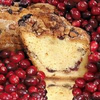 My Grandma's of New England Cape Cod Cranberry Coffee Cake