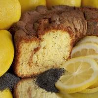 My Grandma's of New England Lemon Poppy Coffee Cake
