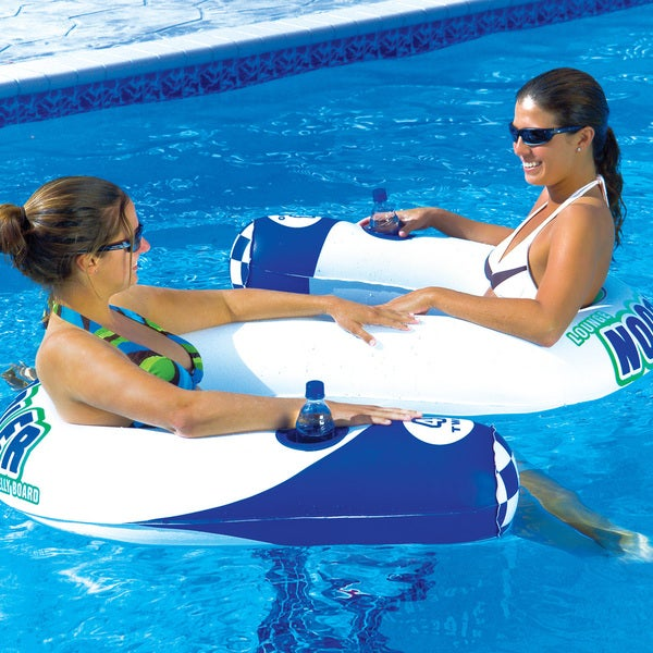 Noodler 2 Inflatable Two Person Lounge Chair by Generic