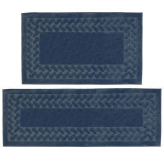 Herringbone 2-Piece Large Rug Set - 2' x 4'