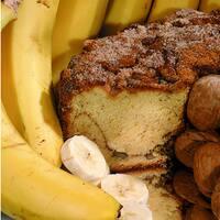 My Grandma's of New England Banana Walnut Coffee Cake