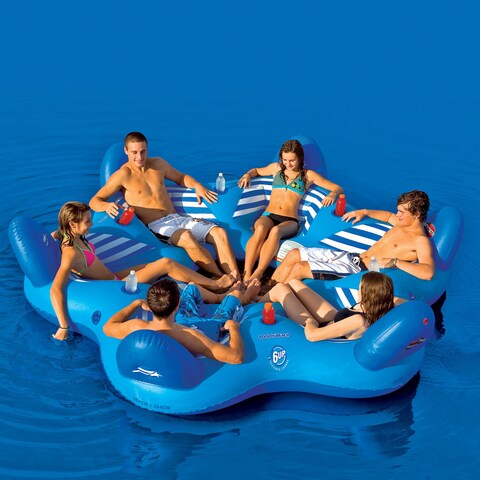 Pool 6 Person Lounger