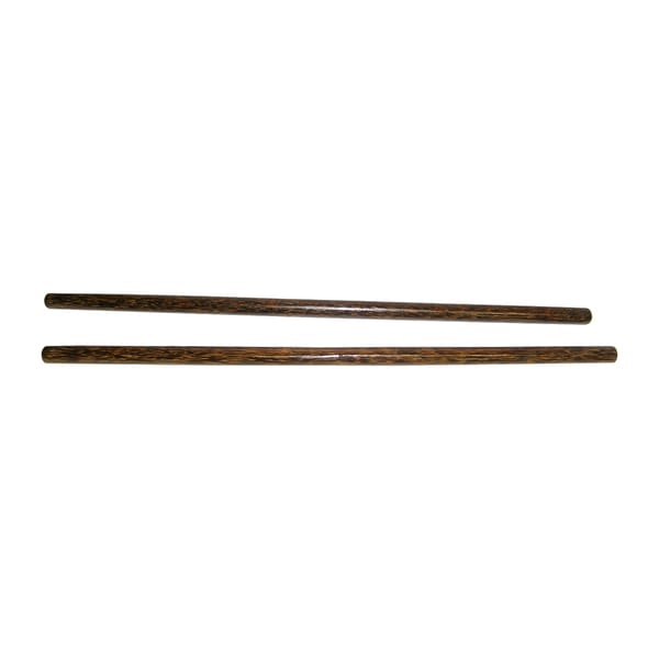 Pair of Filipino Escrima Kali Arnis Bahi Hardwood Fighting Sticks Set